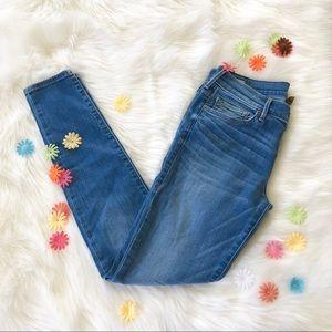 True Religion Lowrise Super Skinny Jeans